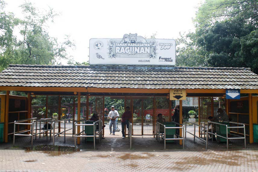 Wisata Kebun Binatang Ragunan di Jakarta