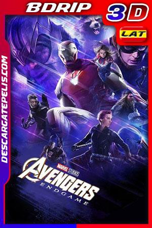 Vengadores. Endgame 2019 3D 1080p BDrip Latino – Inglés