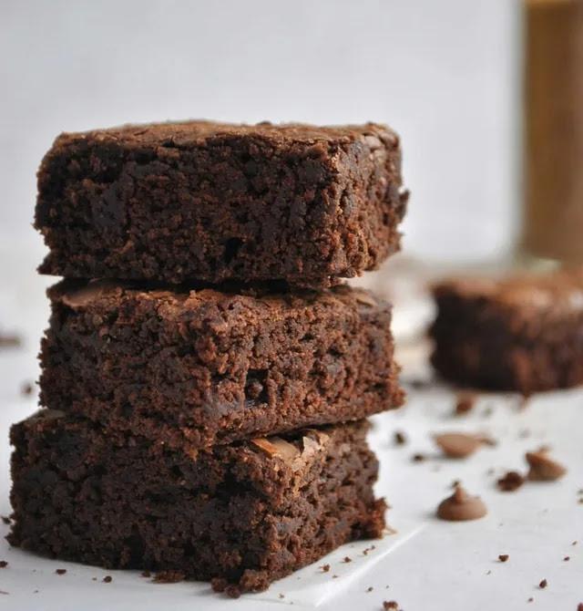 aprende ingles postre brownie bizcocho chocolate