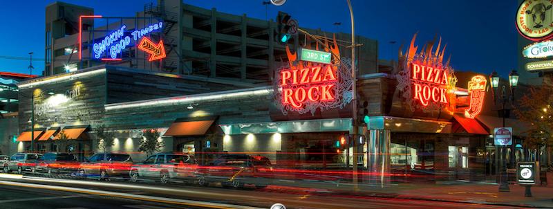 Pizzaria Pizza Rock Las Vegas
