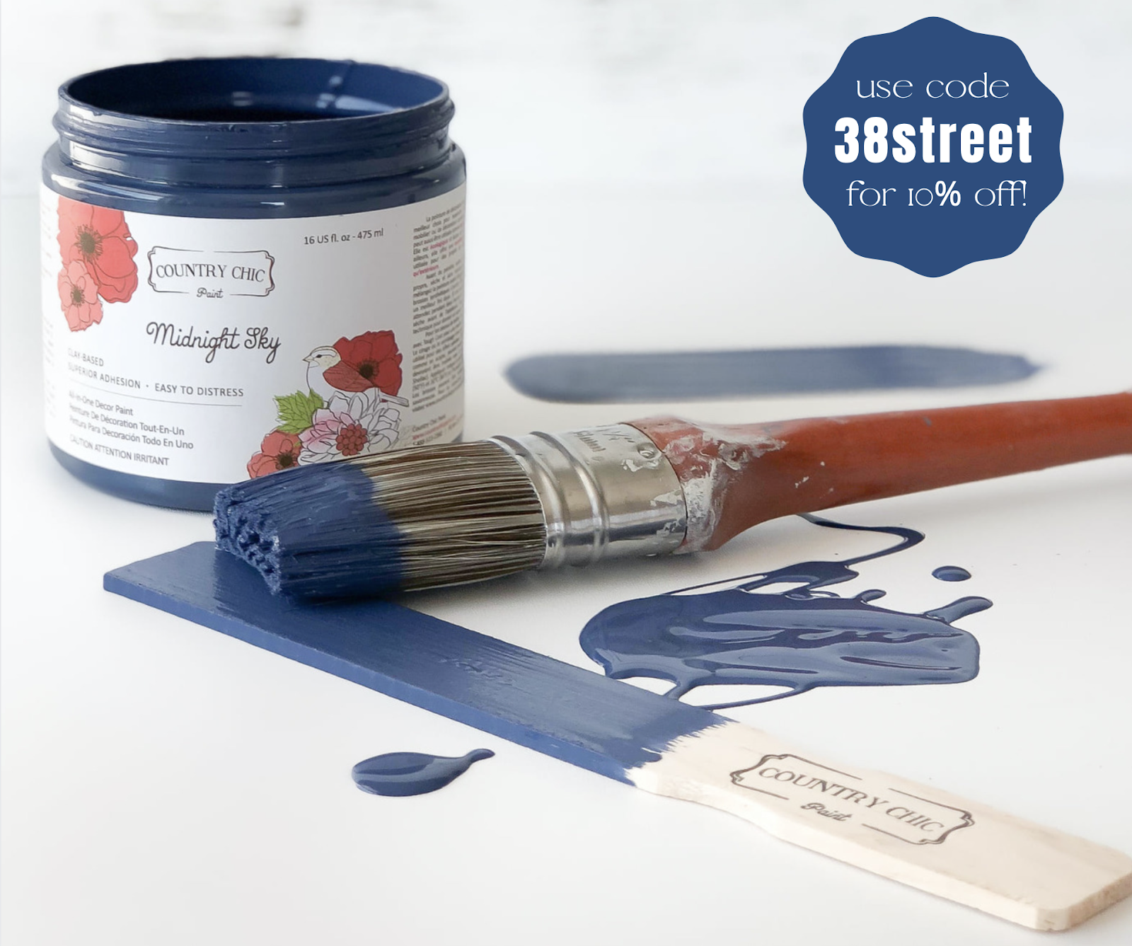 coupon code, midnight sky paint color, country chic paint, furniture paint