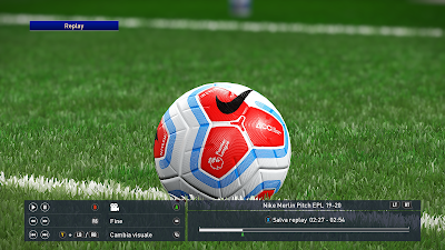 PES 2019 Ballpack Nike Merlin Pitch Premier League 2019/2020 by Vito