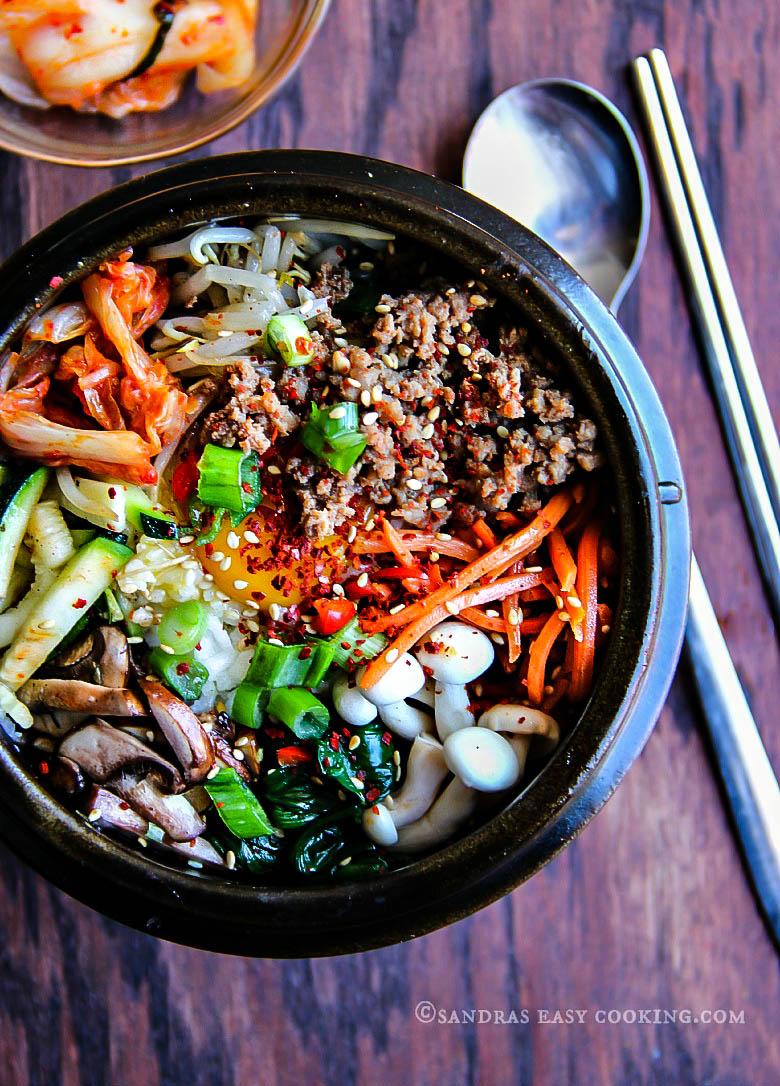 Bibimbap #homemade mixed rice bowl #koreanfood