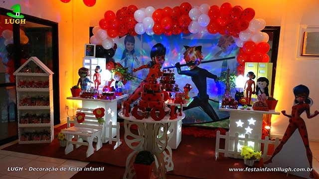 Decoração para festa de aniversário infantil - Mesa decorada - Barra RJ - Tema Ladybug