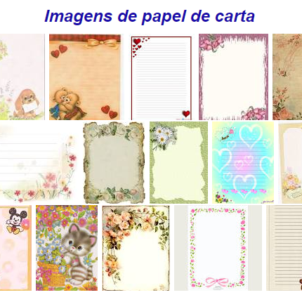 Imagens de papel de carta