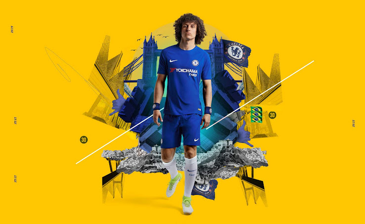 Nike Chelsea 17-18 Home Kit Released - Footy Headlines f968962df