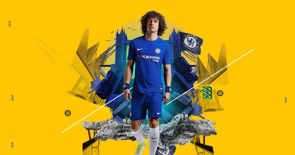 Nike Chelsea 17-18 Home Kit Released