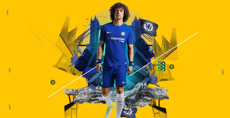 118ba0a88 Nike Chelsea 17-18 Home Kit Released