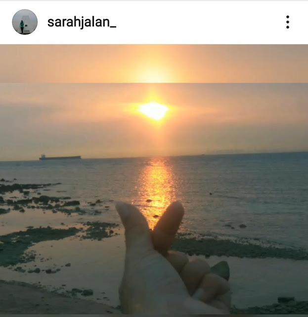 Sunset dari Pulau Putri Nongsa