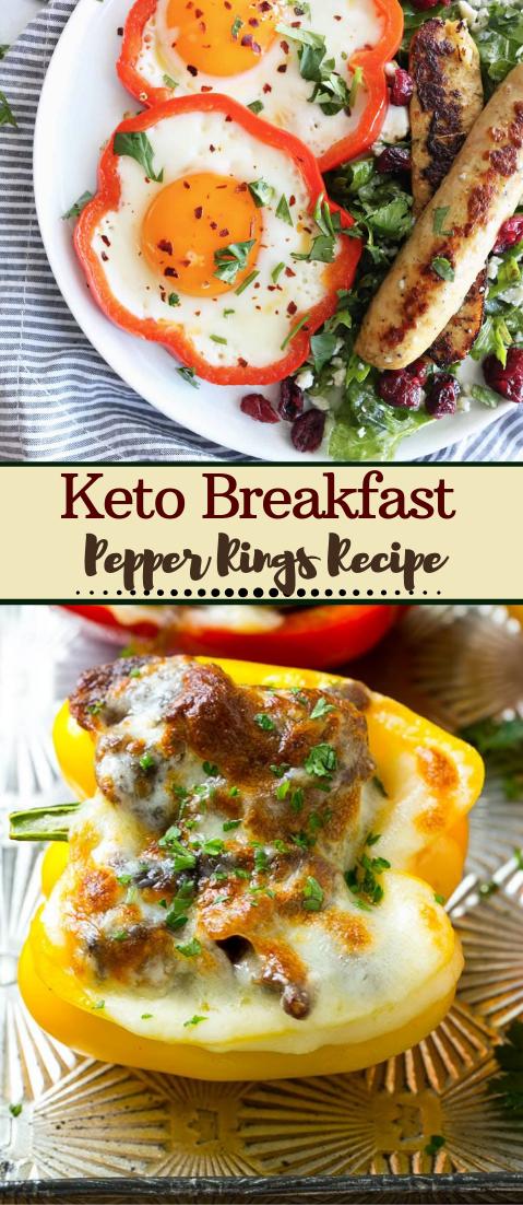 Keto Breakfast Pepper Rings Recipe #vegan #vegetarian #soup #breakfast #lunch
