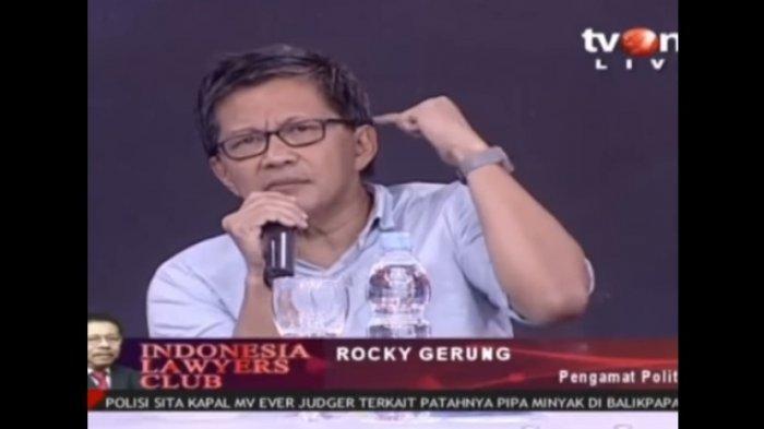 Heboh! Rocky Gerung Sebut Presiden Tak Paham Pancasila, PDIP Meradang