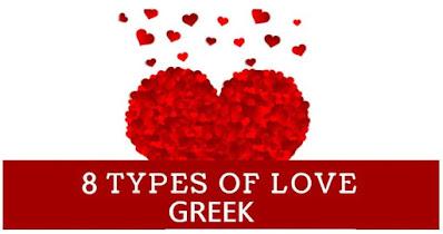 Greek 8 Types of Love
