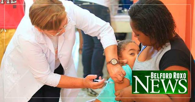 Prefeitura de Belford Roxo continua vacinando contra o sarampo