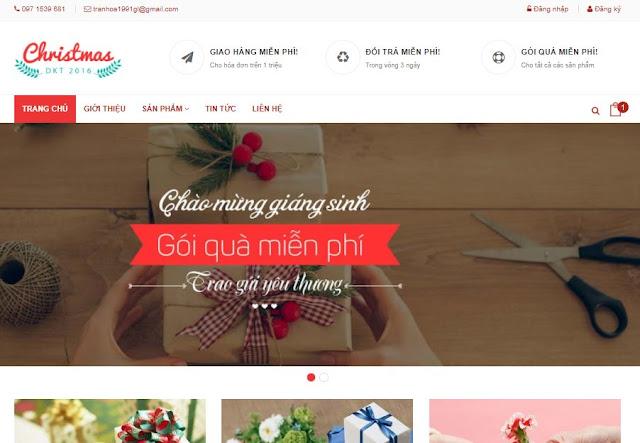 [Share] - Giao diện Shop quà tặng