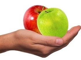 التفاح من الفواكه التي تنحف