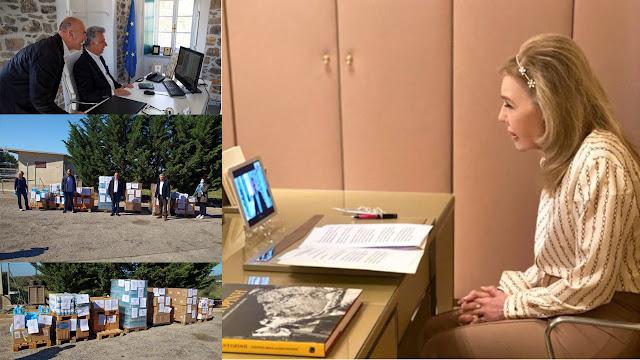 Μεγάλη προσφορά και στήριξη της Μαριάννας Βαρδινογιάννη στον Δήμο Ερμιονίδας