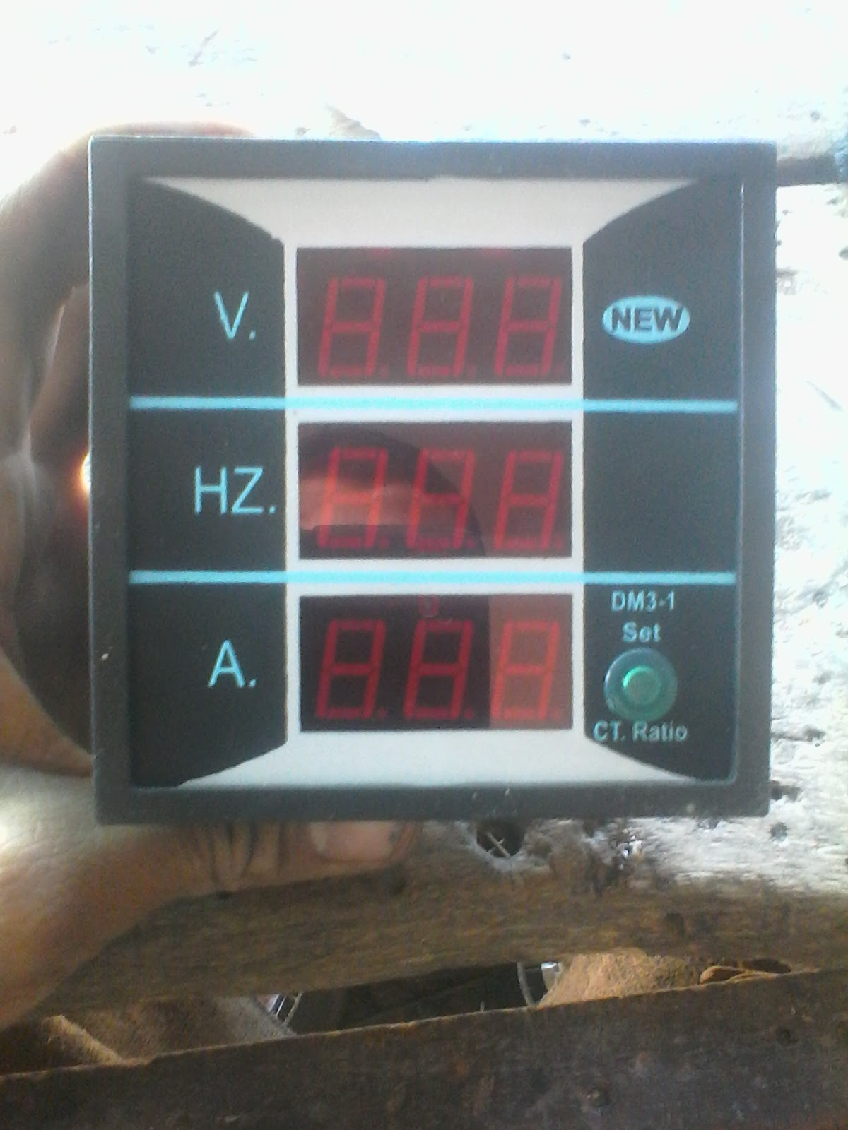 hight resolution of voltmeter ammter