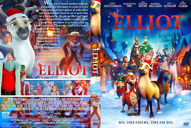 Elliot the Littlest Reindeer DVD