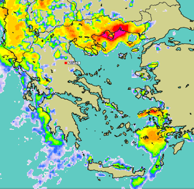 2 - Μπόρες και καταιγίδες σε μεγάλο μέρος της χώρας (+XAΡΤΕΣ ΥΕΤΟΥ)