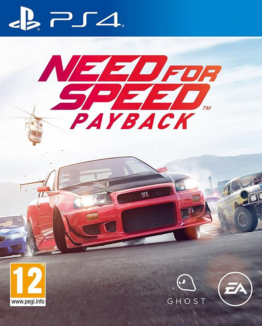 Need for Speed Payback ps4 pkg