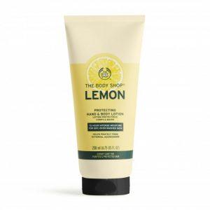The Body Shop Lemon Protecting Hand & Body Lotion