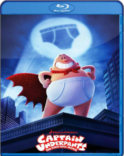 Captain Underpants: The First Epic Movie [2017] [BD25] [Latino]