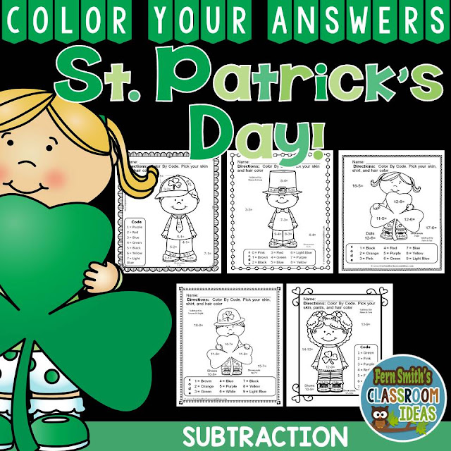 https://www.teacherspayteachers.com/Product/St-Patricks-Day-Math-2382231