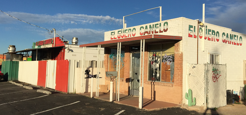El Guero Canelo in Tucson as seen on Food Wars on Travel Channel