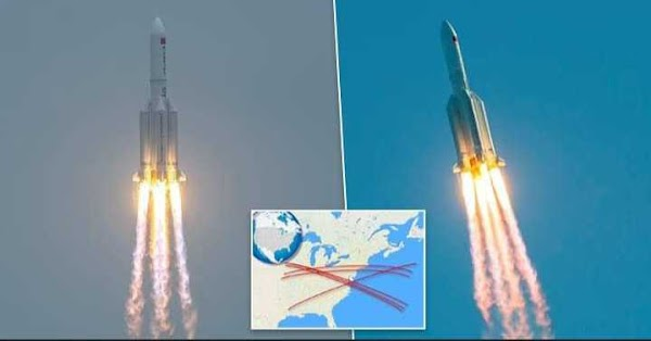 Out-of-control Chinese rocket expected to crash into Earth this weekend