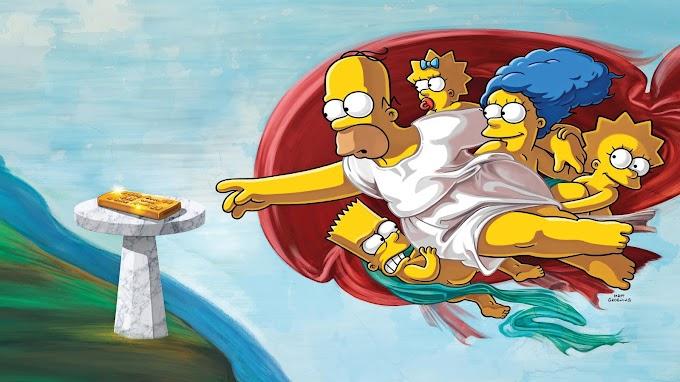 Papel de Parede dos Simpsons