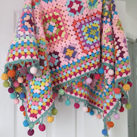 Boho Bobble Blanket
