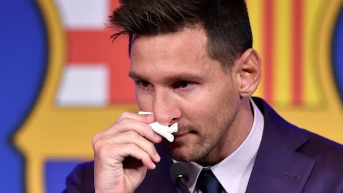 Lionel Messi's Used Tissue is Being Sold for $1 Million