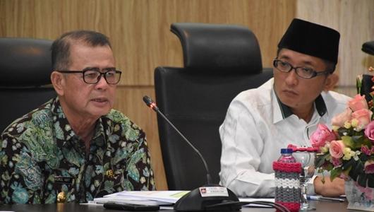 Wagub Nasrul Abit Pimpin Rapat Persiapan PENAS KTNA XVI