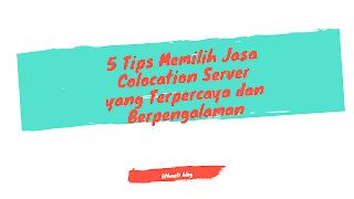Jasa Colocation Server