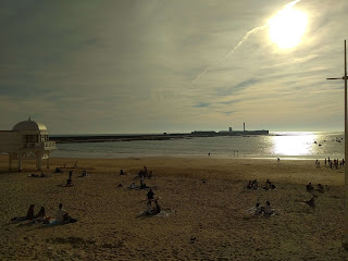 Playa para niños Cádiz