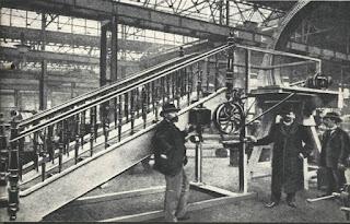 Primera escalera mecánica del mundo