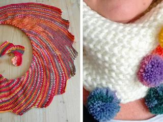 Tunisian Knit Stitch and Purl Stitch