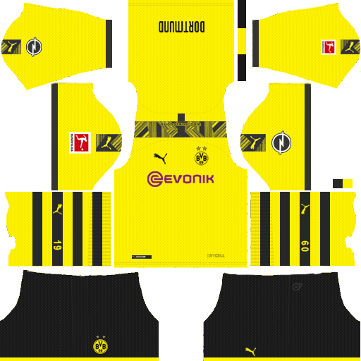 512x512 Borussia Dortmund kits