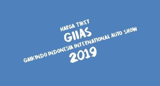 Harga Tiket GIIAS 2019 Tidak Naik