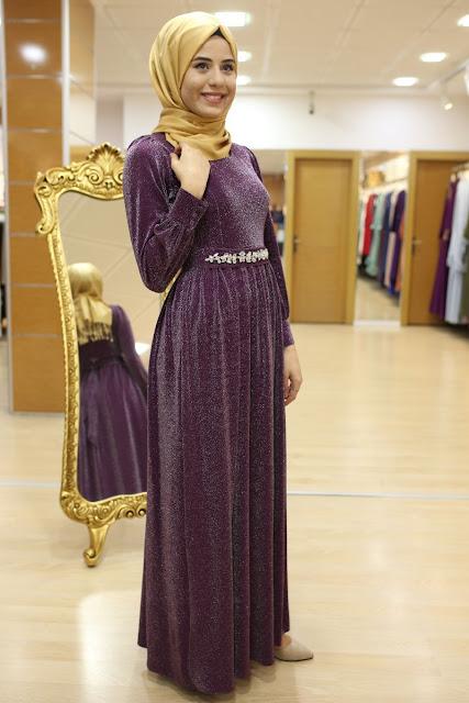 Son trend sim modası-simli elbise modelleri