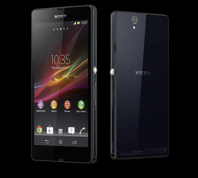 sony xperia z new mobile phone