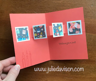 Stampin' Up! Follow Your Art Floating Pop Up Card ~ Annual Catalog Sneak Peek ~ www.juliedavison.com