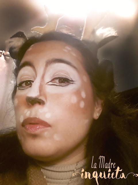 Maquillaje de ciervo DIY