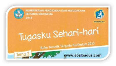 Download Soal PH/ UH Kls 2 tema 3 st 1 smt 1 k 13/ kurtilas, th. 2019, 2020