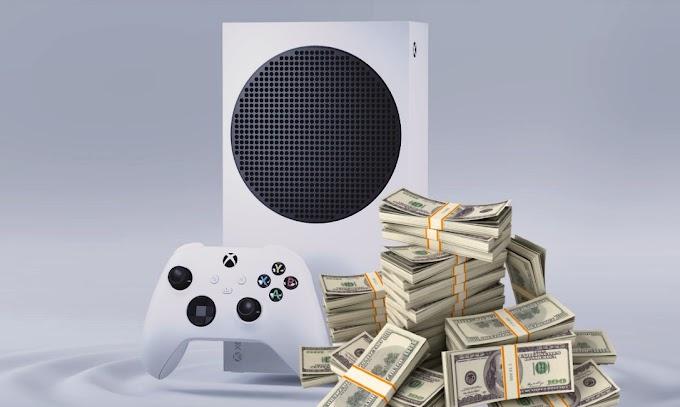 Sorteio Xbox Series S ou prêmio em dinheiro
