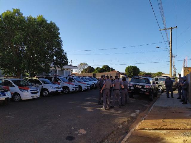 Operação conjunta cumpre mandados de prisão e apreende drogas em Mirante do Paranapanema