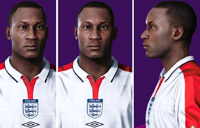 "PES 2021 Faces Emile ""Lord"" Heskey by Alireza"