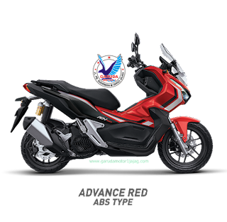 Honda ADV150 Advance Red ABS