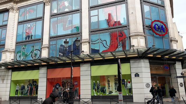 Lojas C&A em Paris