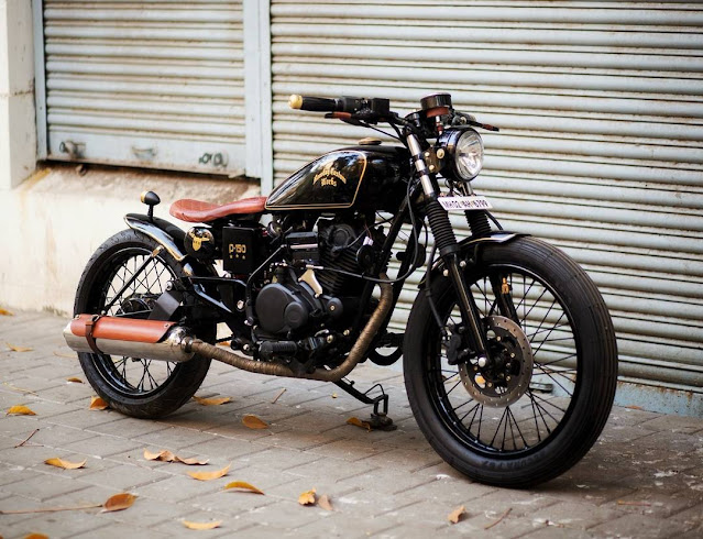 bombay custom works royal enfield modified